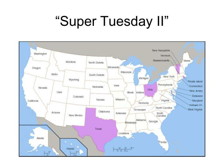 """Super Tuesday II"""