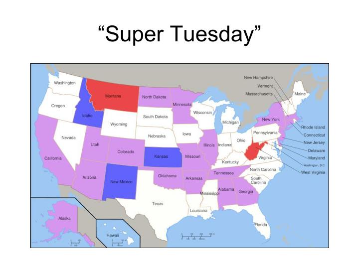 """Super Tuesday"""