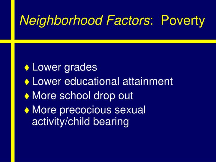 Neighborhood Factors