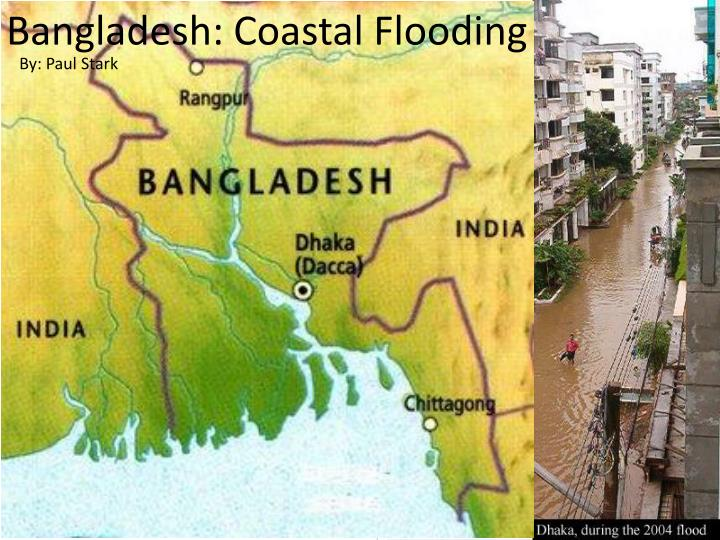 Bangladesh coastal flooding