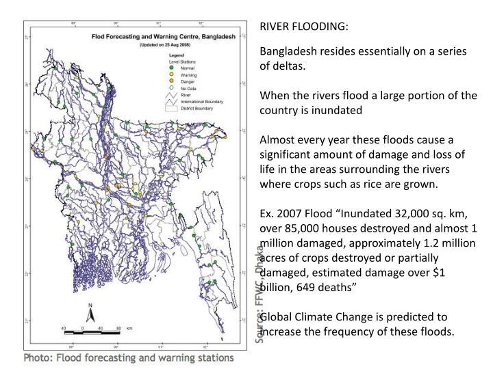 RIVER FLOODING:
