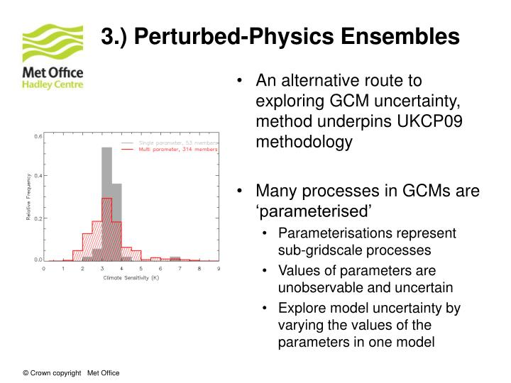 3.) Perturbed-Physics Ensembles