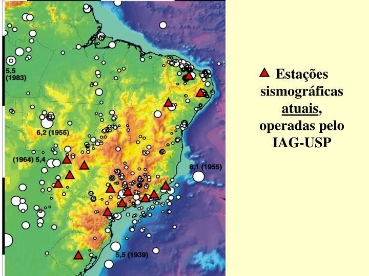 Estações sismográficas