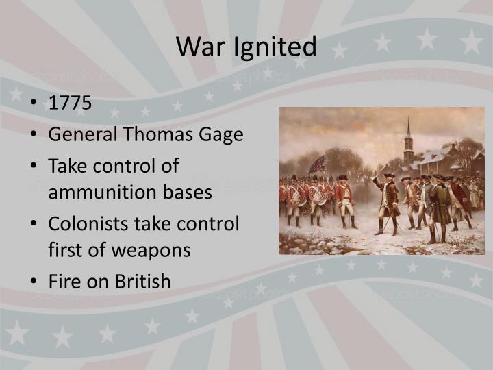 War Ignited