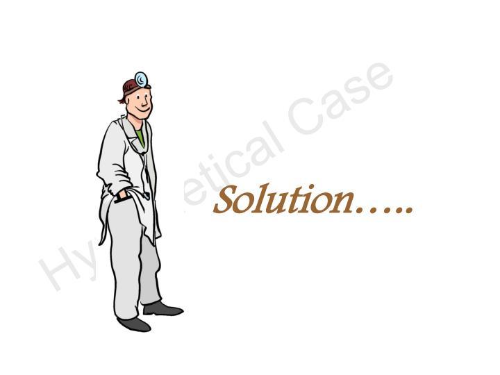 Solution…..