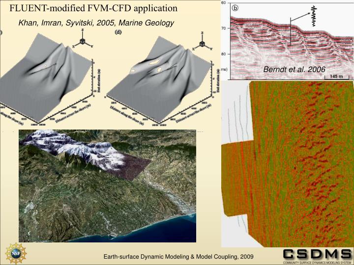 FLUENT-modified FVM-CFD application