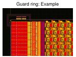 guard ring example