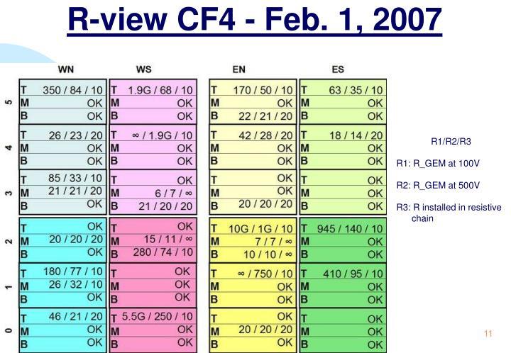 R-view CF4 - Feb. 1, 2007