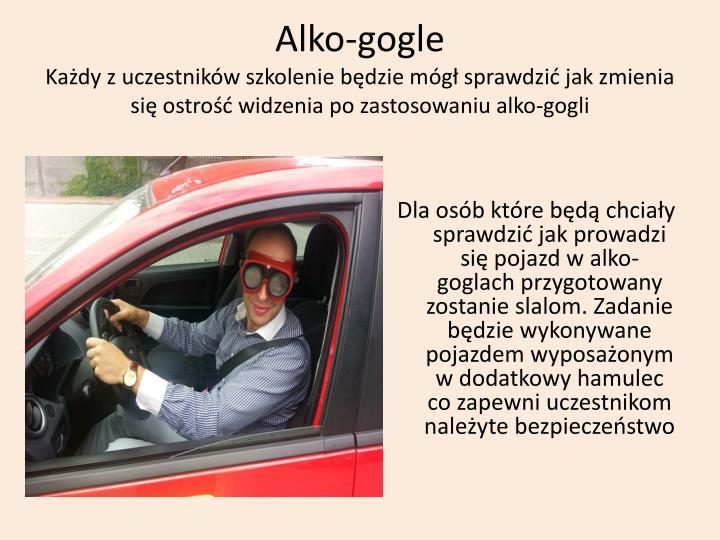 Alko-gogle