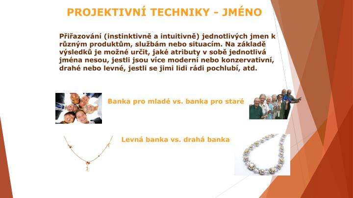 PROJEKTIVNÍ TECHNIKY - JMÉNO