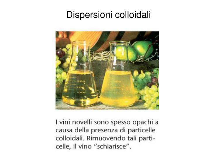 Dispersioni colloidali