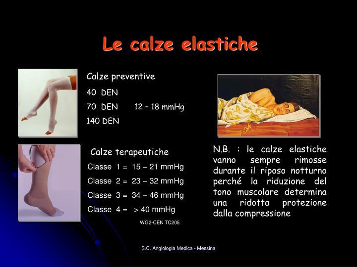 Calze preventive