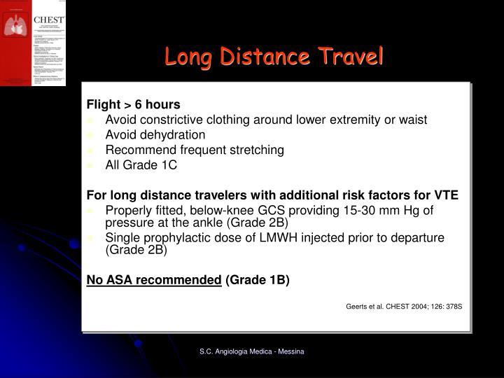 Long Distance Travel