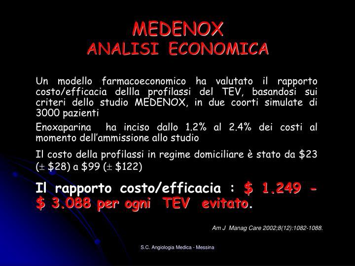 MEDENOX