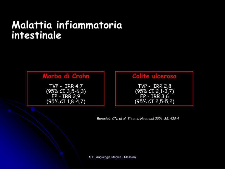 Malattia infiammatoria intestinale