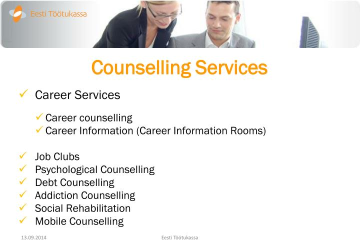 Counselling services1