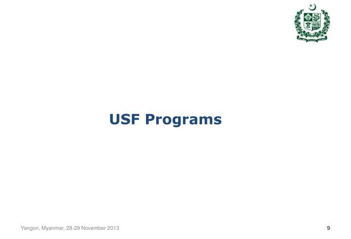 USF Programs