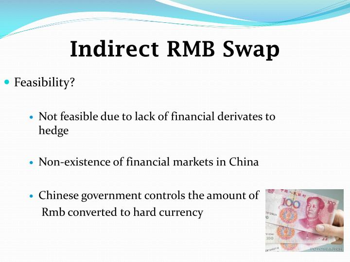 Indirect RMB Swap
