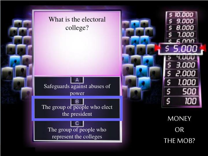 What is the electoral college?
