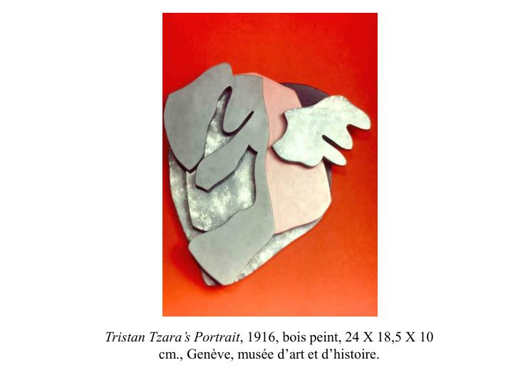 Tristan Tzara's Portrait
