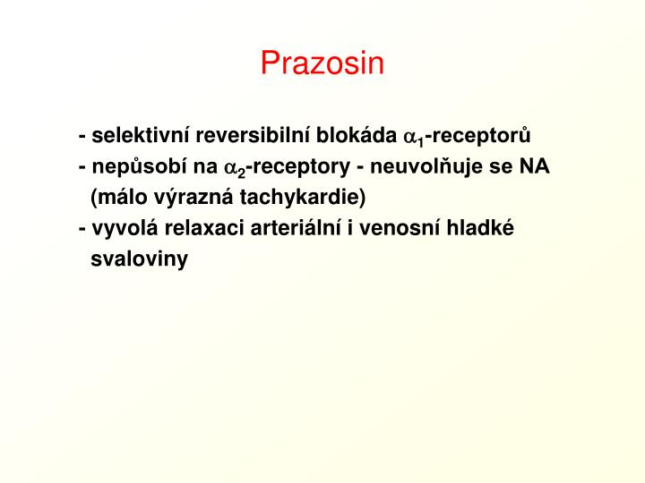 Prazosin