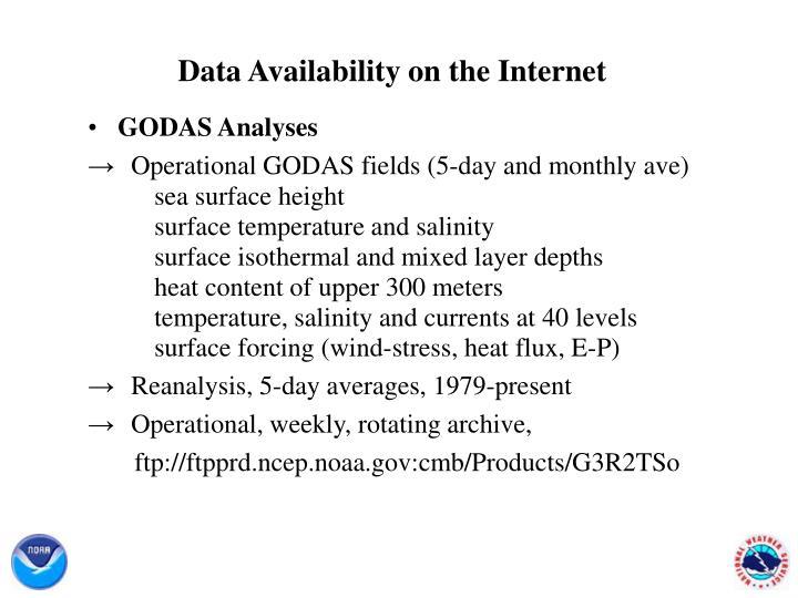 Data Availability on the Internet