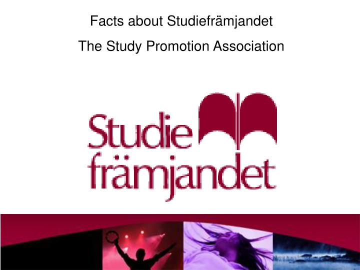 Facts about Studiefrämjandet