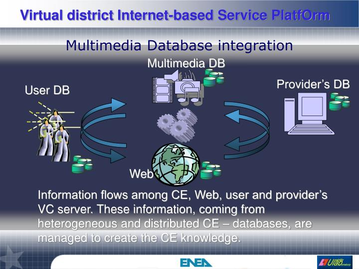 Multimedia Database integration