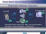 multimedia database integration