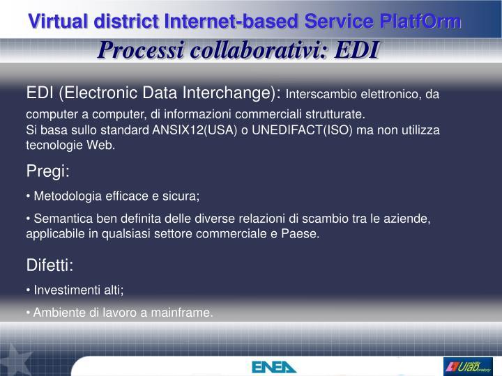 Processi collaborativi: EDI