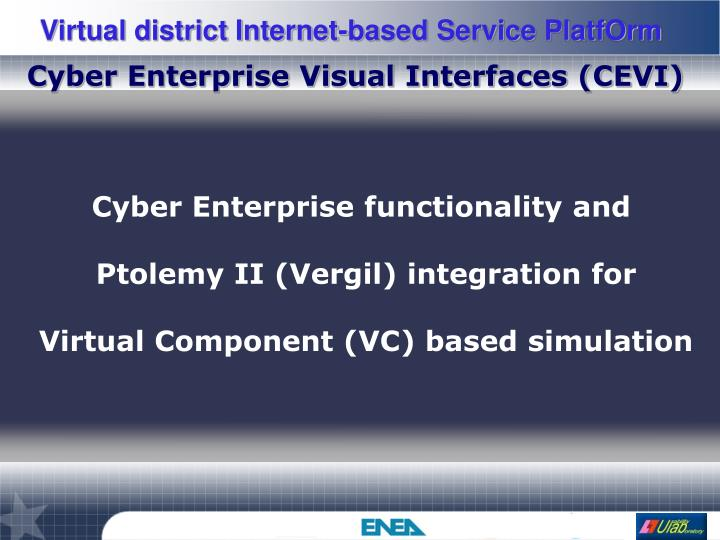 Cyber Enterprise Visual Interfaces (CEVI)