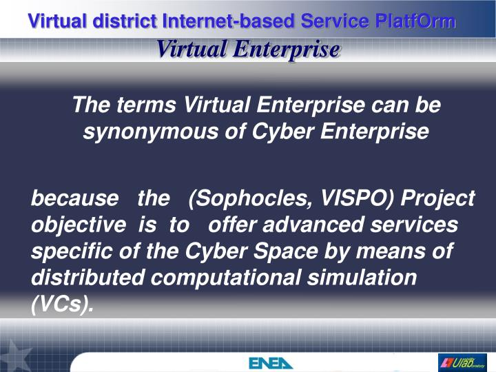 Virtual Enterprise