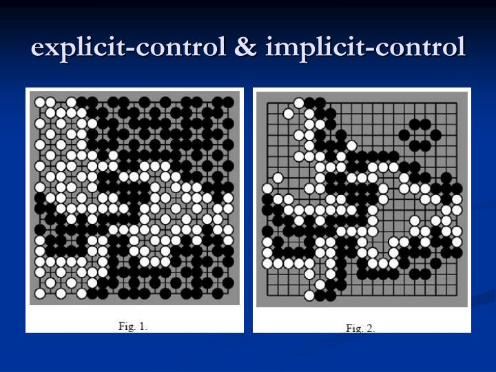 explicit-control &