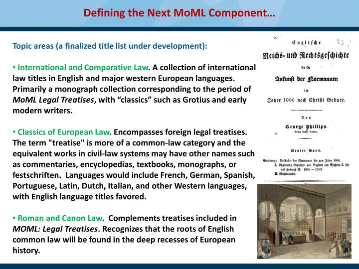 Defining the Next MoML Component…