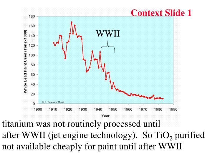 Context Slide 1