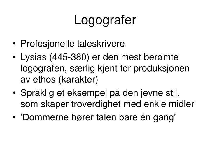 Logografer