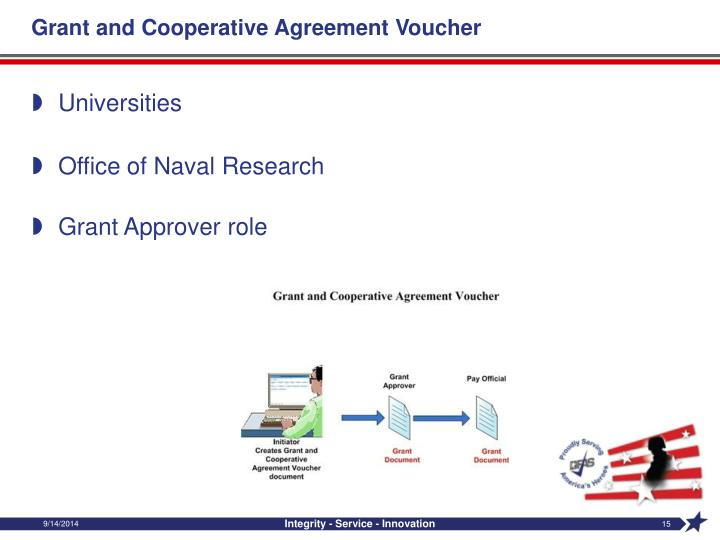 Grant and Cooperative Agreement Voucher