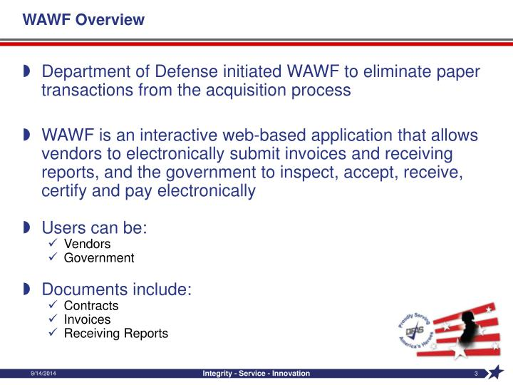 Wawf overview