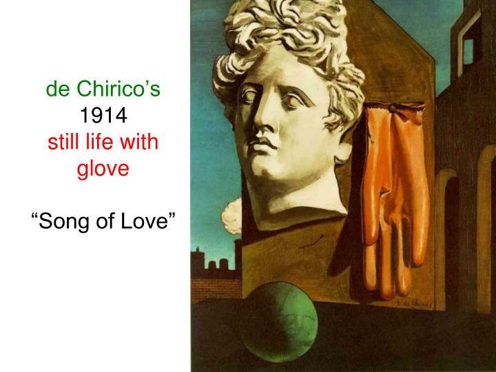de Chirico's