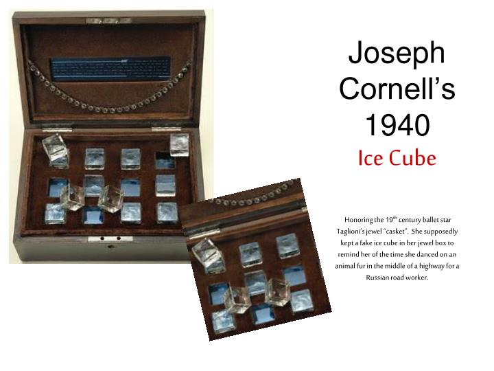 Joseph   Cornell's