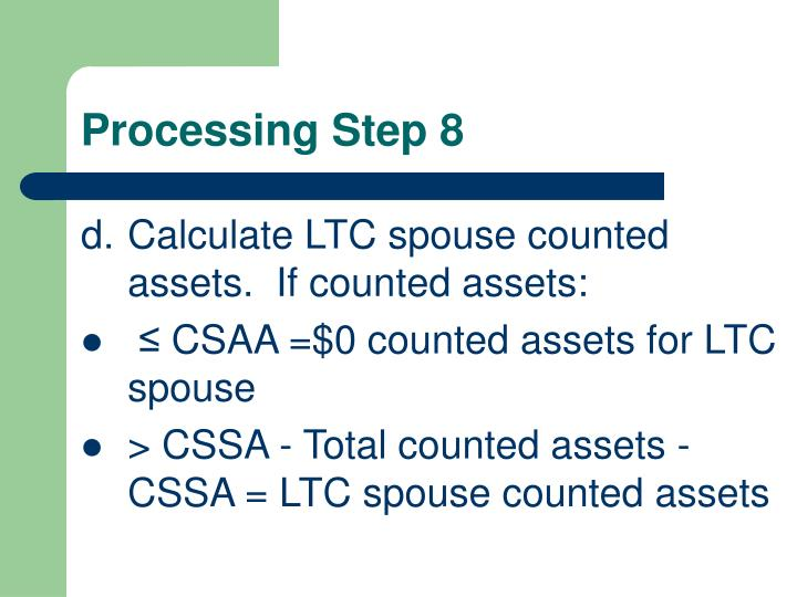 Processing Step 8
