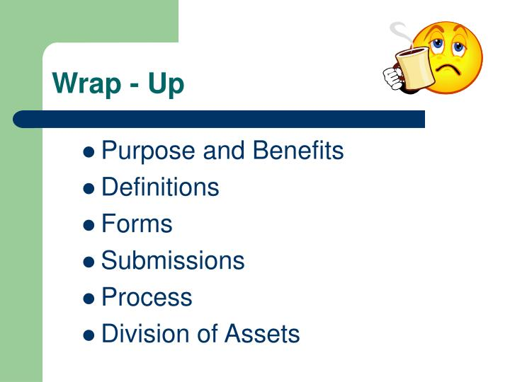 Wrap - Up