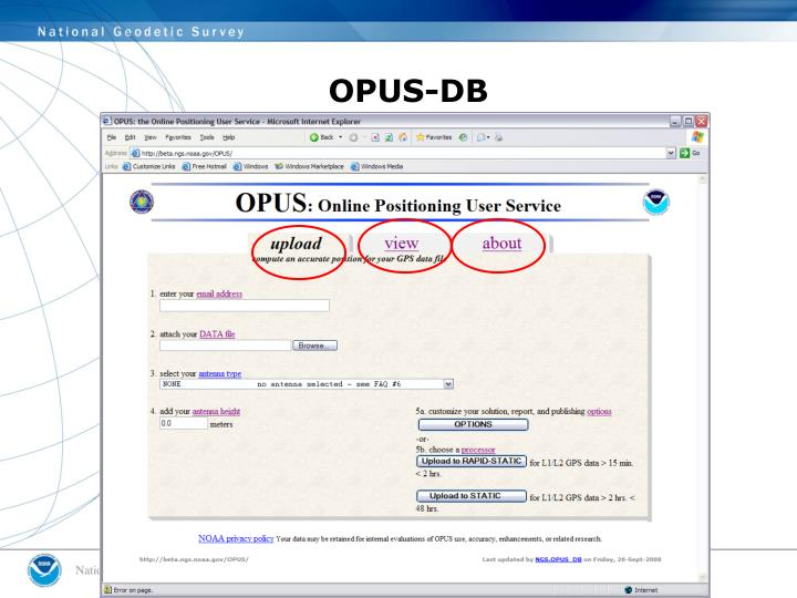 OPUS-DB