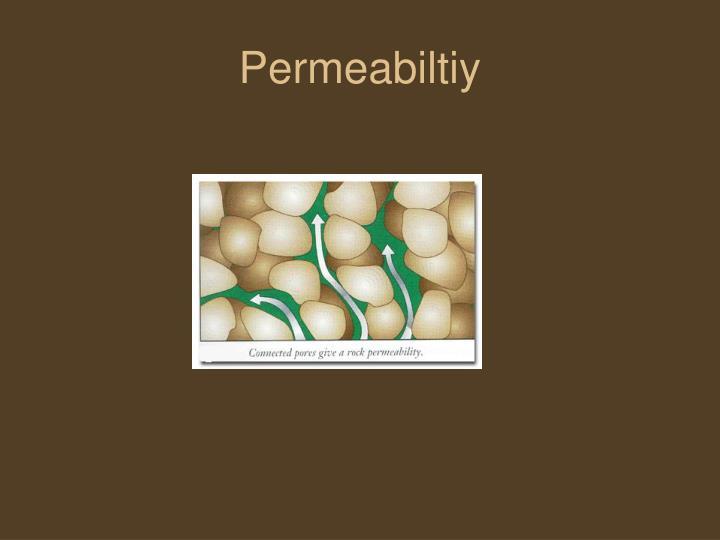 Permeabiltiy