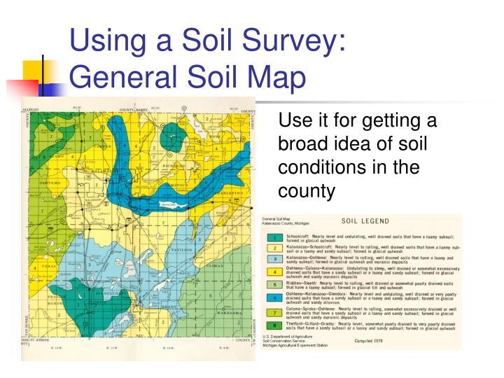 Using a Soil Survey: