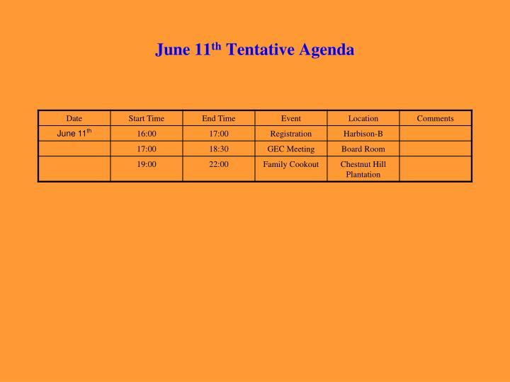 June 11