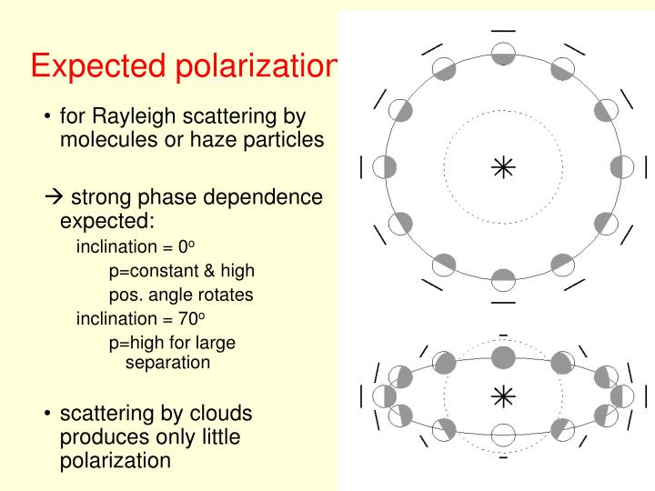 Expected polarization