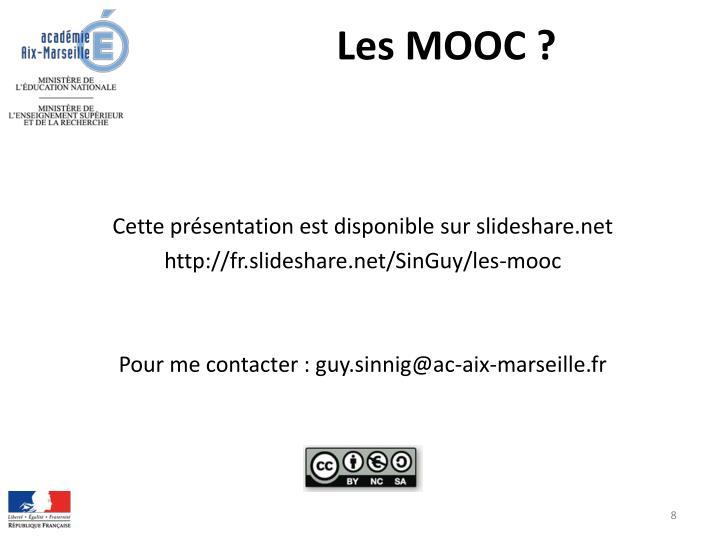 Les MOOC ?