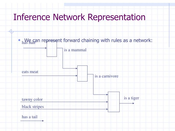 Inference Network Representation