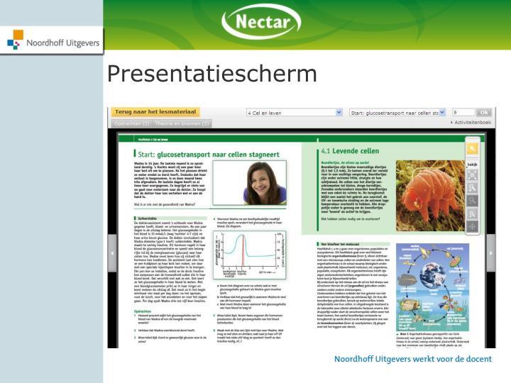 Presentatiescherm